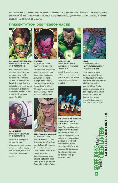 Page 3 Geoff Johns présente Green lantern tome 6