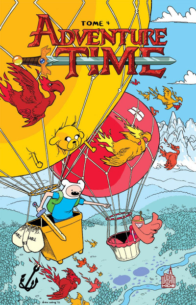 Couverture Adventure time tome 4