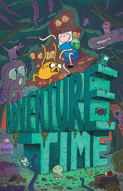 Page 1 Adventure time tome 4