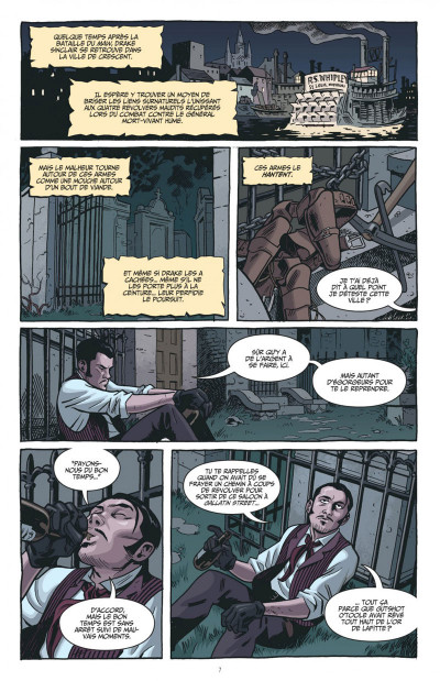 Page 7 The sixth gun tome 2