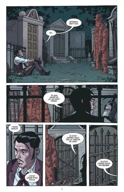 Page 8 The sixth gun tome 2