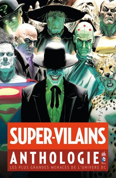 Couverture supers-vilains anthologie