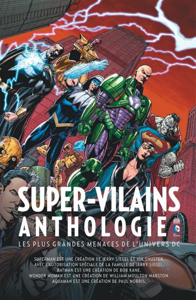 Page 1 supers-vilains anthologie