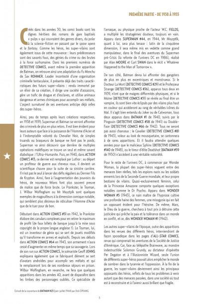 Page 5 supers-vilains anthologie