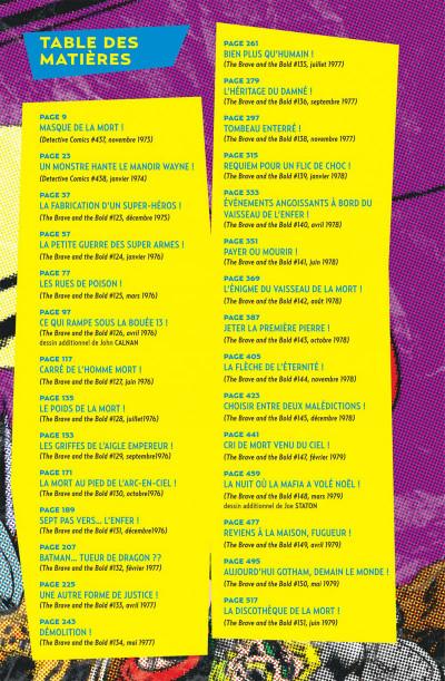 Page 7 Batman la légende tome 2