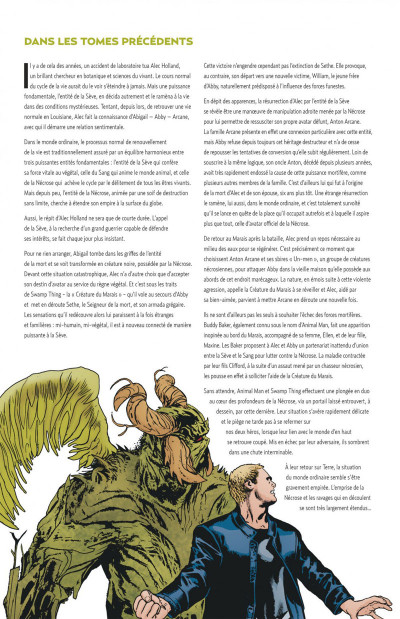 Page 4 swamp thing tome 3 - le nécromonde