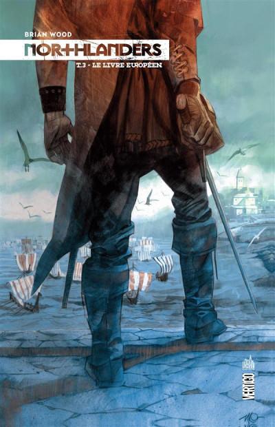 Couverture Northlanders tome 3 - le livre européen