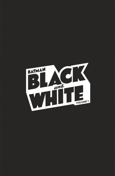 Page 1 Batman black and white tome 1