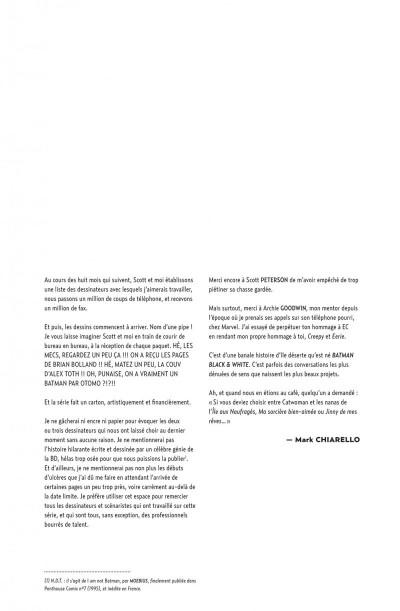 Page 7 Batman black and white tome 1