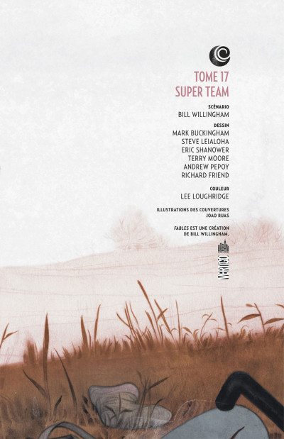 Page 3 fables tome 17 - super team (cartonné)