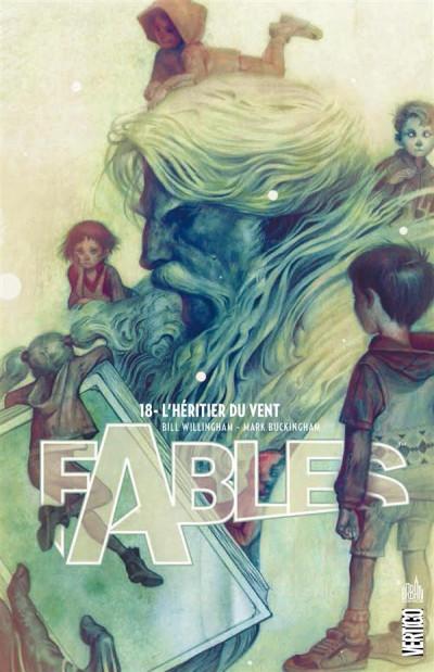Couverture Fables tome 18 - l'héritier du vent (cartonné)