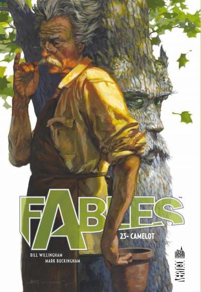 Couverture Fables tome 23 - Camelot (souple)