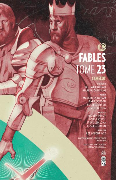 Page 3 Fables tome 23 - Camelot (souple)