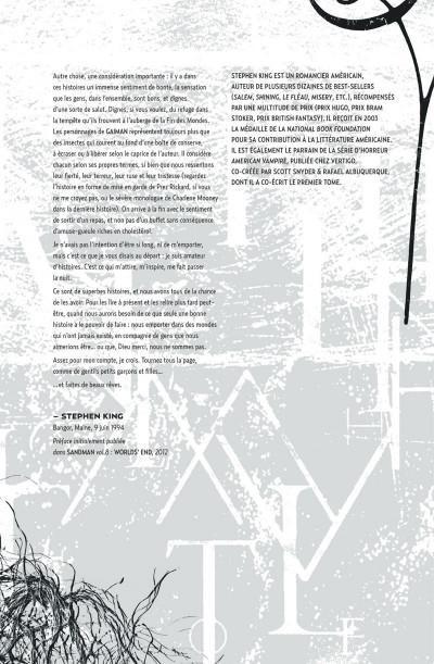 Page 8 Sandman tome 5