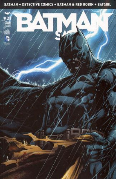 Couverture Batman saga tome 21