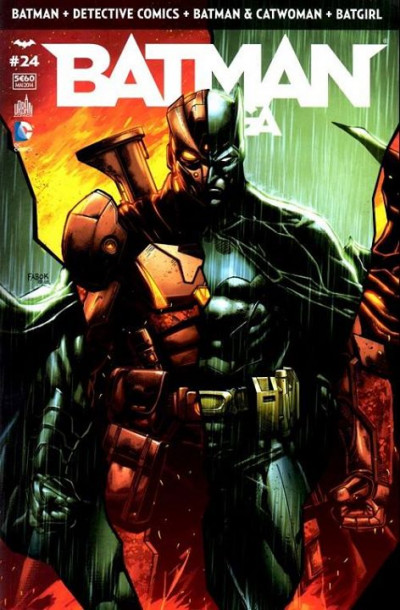 Couverture Batman Saga tome 24