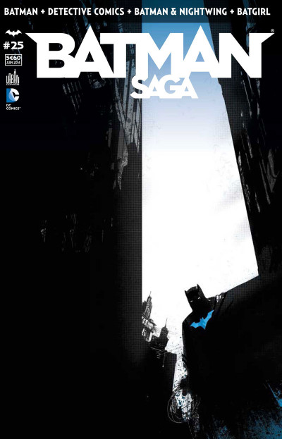 Couverture Batman Saga tome 25