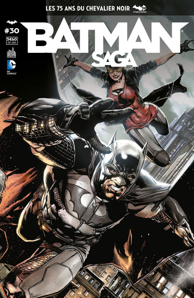 Couverture Batman Saga tome 30
