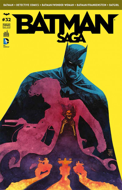 Couverture Batman Saga tome 32