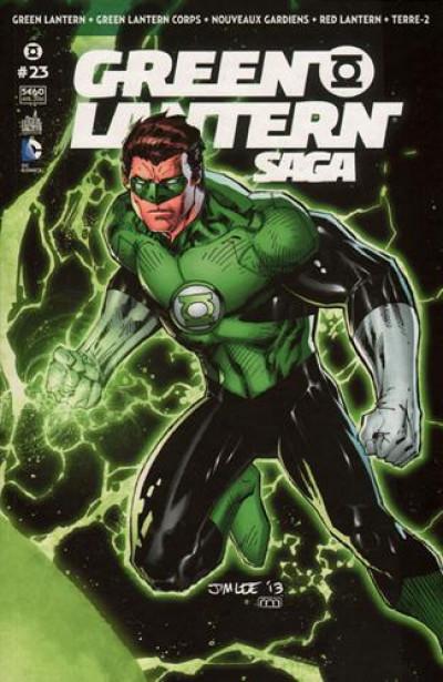 Couverture Green Lantern saga N.23