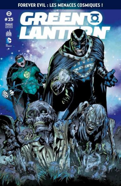 Couverture Green Lantern Saga tome 25