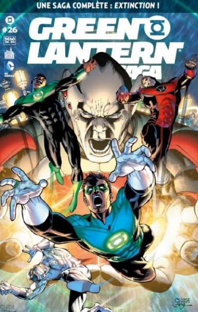Couverture Green Lantern Saga tome 26