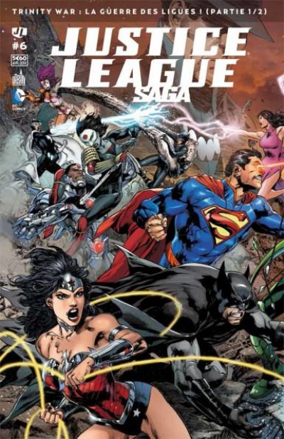 Couverture Justice League Saga tome 6