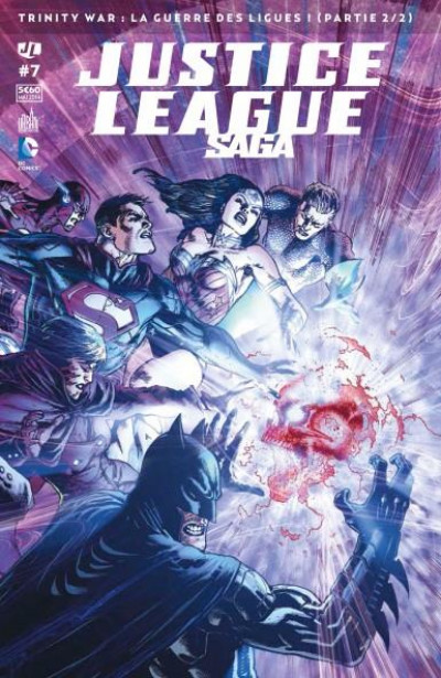 Couverture Justice League saga N.7