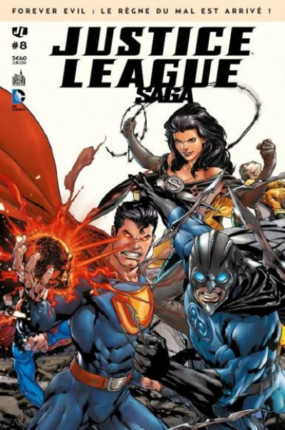 Couverture Justice league saga tome 8