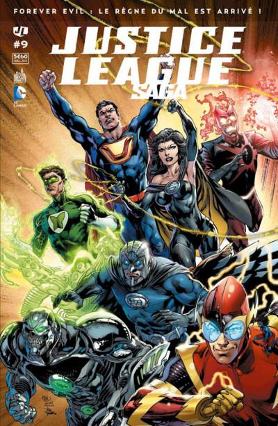 Couverture Justice League Saga tome 9