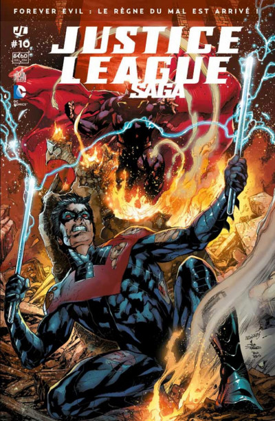 Couverture Justice League Saga tome 10