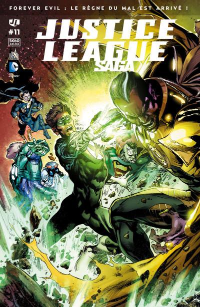 Couverture Justice League Saga tome 11