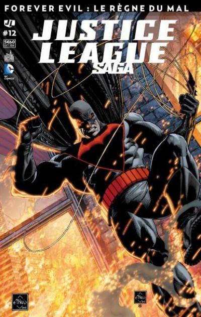 Couverture Justice League Saga tome 12