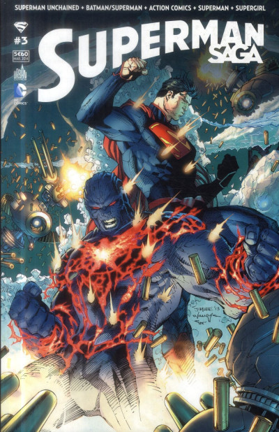 Couverture Superman Saga tome 3