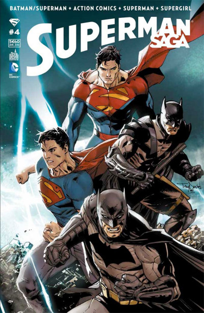 Couverture Superman Saga tome 4