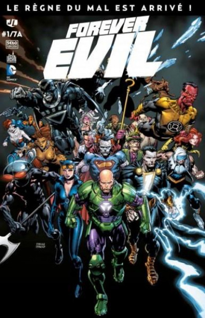 Couverture Forever Evil Tome 1