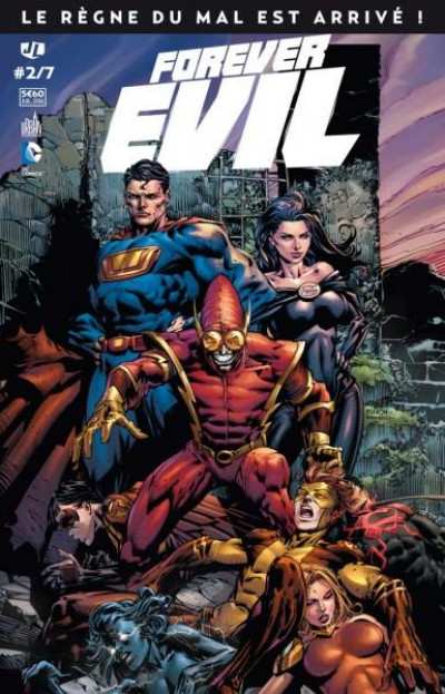 Couverture Forever Evil Tome 2
