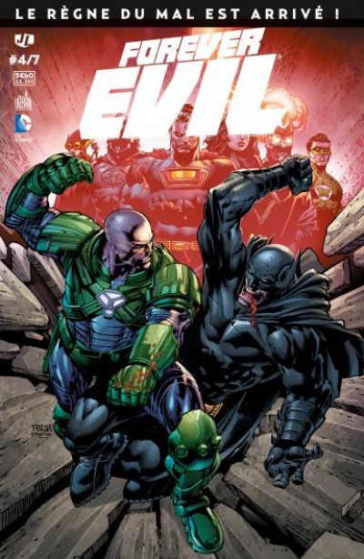 Couverture Forever Evil tome 4