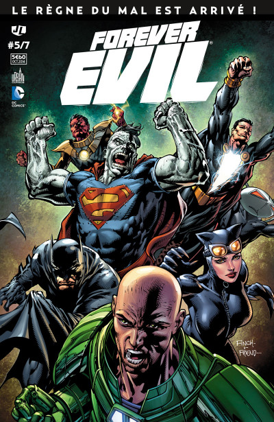 Couverture Forever Evil tome 5