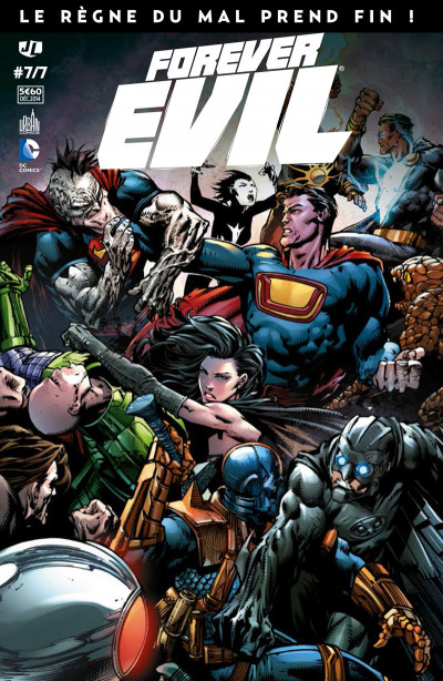 Couverture Forever Evil tome 7