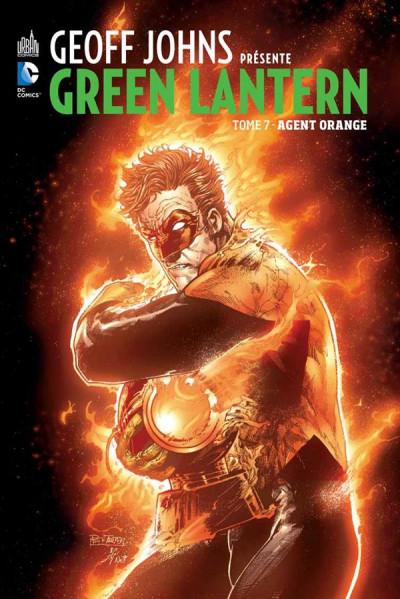 Couverture Geoff Johns présente Green Lantern tome 7
