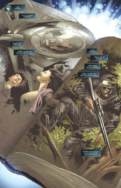 Page 8 Geoff Johns présente Green Lantern tome 7