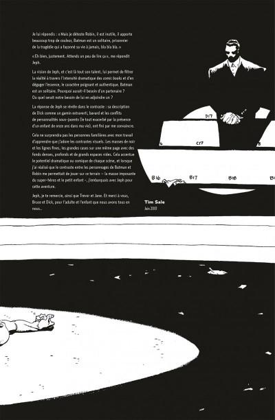 Page 5 Batman amère victoire - édition 75 ans
