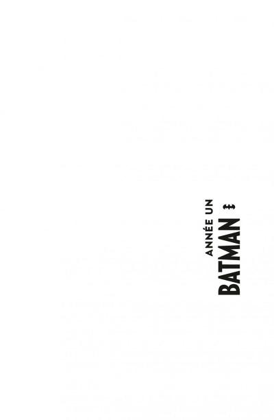 Page 1 Batman année un - édition 75 ans