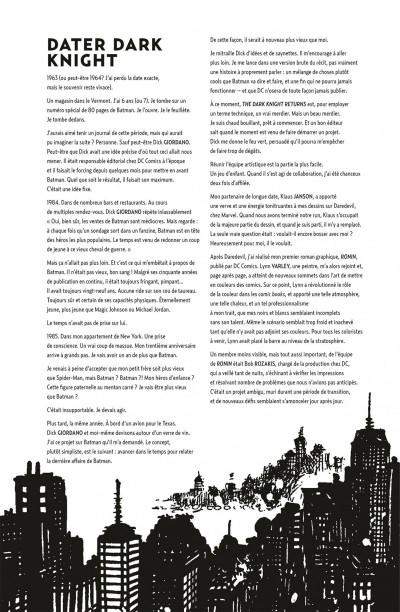 Page 4 Batman the dark knight returns - édition 75 ans