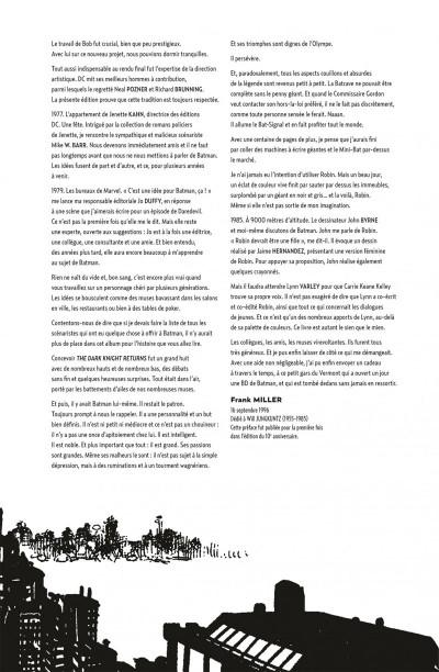 Page 5 Batman the dark knight returns - édition 75 ans