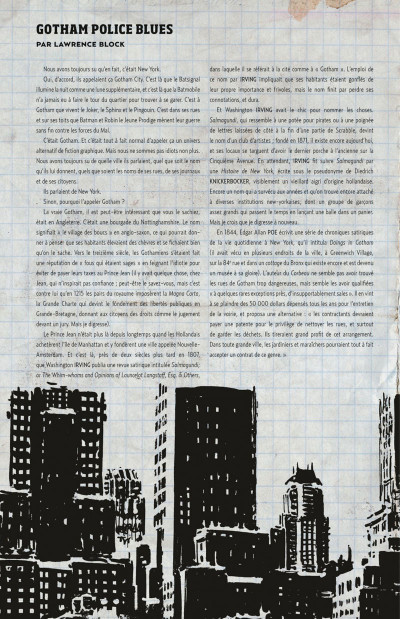 Page 6 Gotham central tome 1