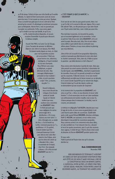 Page 5 la cible de Deadshot