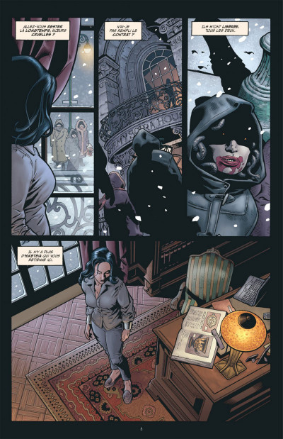 Page 8 Greg Rucka présente Wonder Woman tome 1