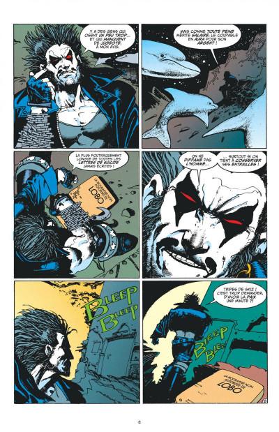 Page 8 la balade de Lobo